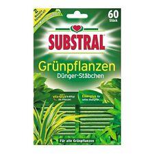 SUBSTRAL Fertilizer Sticks for Green Plants 60 Stück -