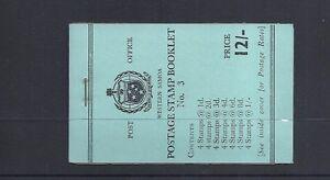 SAMOA 1962-4 booklet SG SB10 VF NH