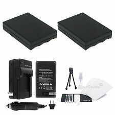 2X NB-3L Battery + Charger for Canon PowerShot SD10 SD100 SD110 SD20 SD500 SD550