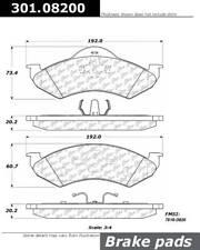 Disc Brake Pad Set fits 2000-2002 Dodge Dakota Dakota,Durango  CENTRIC PARTS