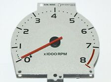 New Tachometer Silver Face- Genuine MG Rover MGF MG TF VVC Part Number YAE100850
