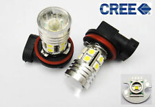 2x CREE Q5 LED H11 H8 Projector Fog DRL Daytime Runing Light White 12 SMD Bulb