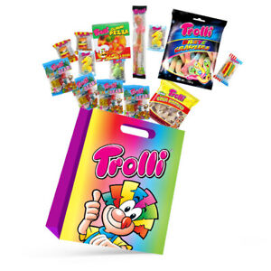 Trolli Kids Showbag Candy Gummy Bears Pizza Burger Confectionery Show Bag