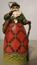 Jim Shore Irish Santa Hanging Ornament 4022939 In Original Box