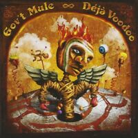 "GOV'T MULE ""DEJA VOODOO"" 2 CD ROCK NEW!"