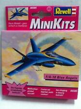 Modellini statici di aerei e veicoli spaziali blu Scala 1:8