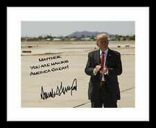 Personalized Donald Trump 8x10 Signed Photo Print Autographed Your Name Custom