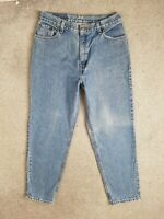 Vintage Levis 550 High Waisted Relaxed Tapered Straight Blue 80s Jeans W30 L28