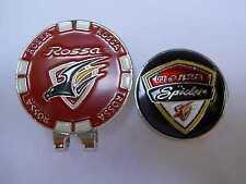 TaylorMade Rossa Monza Spider Golf Ball Marker RedBlack