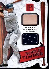 2016 Panini Pantheon Manny Ramirez Noble Timber Dual Relic Card #30/49 Red Sox