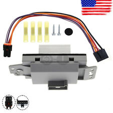 Blower Motor Resistor Speed Control Module Kit For For 2002-2009 C Envoy