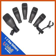 Samson DK705 5 Piece Drum Microphones Mic Kit | Kick, Snare, Toms