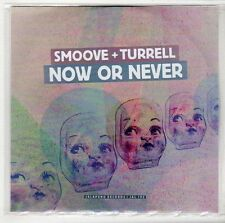 (GS122) Smoove & Turrell, Now Or Never - 2014 DJ CD