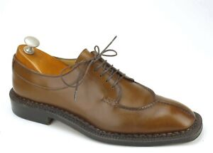 Rare Salvatore Ferragamo Handmade Norvegese Split-toe Oxfords 7.5 D $2800