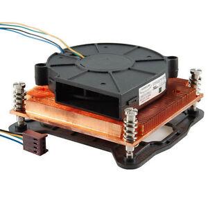 EverCool LGAL1156A-B715 Intel LGA1156/1155 i3/i5/i7 1U Copper Active Cooler