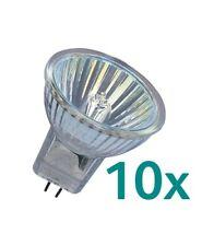 10x Osram Decostar 35 Halogenlampe 35W GU4 12V 44892 WFL 35mm