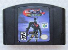 Batman Beyond Return of the Joker Nintendo 64 N64 OEM Rare Video Game Cart GREAT