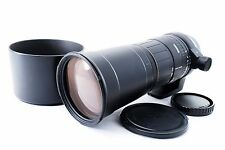 Sigma 170-500mm f/5-6.3 APO Lens for Sony/Minolta w/hood [Exc++] from Japan #662