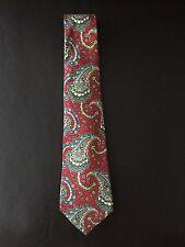 CHANEL Paisley Silk Tie