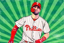 PHILADELPHIA PHILLIES BRYCE HARPER MLB BASEBALL FRIDGE MAGNET DECOR #3