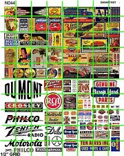 N044 DAVE'S DECALS JUNK SCRAP YARD TRANSPORTATION RADIO TV PRODUCT ADS SIGNS