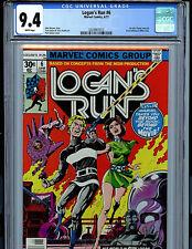 Logan's Run #6 CGC 9.4 1977 Marvel Comic 1st solo Thanos Story Amricons K3