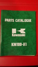 Kawasaki Factory Motorcycle Parts Catalog 1976 KM100 99997-663