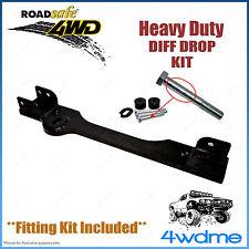 "Holden Colorado RG 4WD Roadsafe Diff Drop Kit Crossmember Drop 2"" 3"" 4"" Lift"