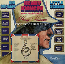 Henry Mancini  - Big Screen – Little Screen & A Concert of Film Music - CDLK4558