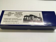 N Scale Architect Cat Hollow Creamery & Ice House - NEW Craftsman Wood Kit