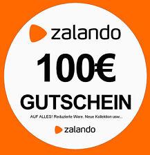 Zalando Gutschein in Wert von 100€ **bis zu 50 % sparren**