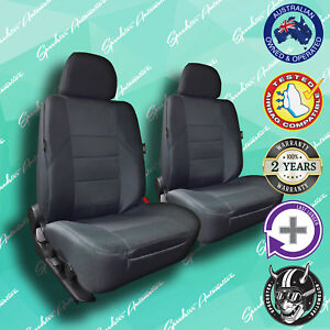 FOR DAIHATSU CHARADE, GREY FRONT CAR SEAT COVERS, HIGH QUALITY ELEGANT JACQUARD