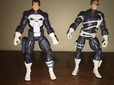 "Marvel Legends Hasbro SHIELD Agent Nick Fury and Punisher 6"" From 2 Pack Sets"