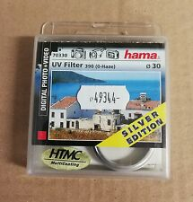 Hama UV Filter UV-390 (O-Haze) - filtre - filtre ultraviolet - 30 mm