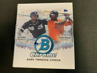 2020 Bowman Chrome Baseball Factory Sealed Hobby Box