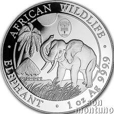 2017 Somalia 1oz Silver Elephant Coin Berlin Wmf Privy Box+Coa World Money Fair