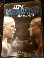 UFC: Ultimate 100 Greatest Fight Moments (DVD, 2010)