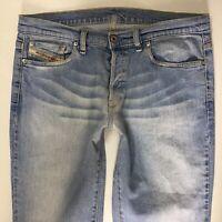Ladies DIESEL DAZE Bootcut Retro Blue Faded  Jeans size W32 L32 (778d)
