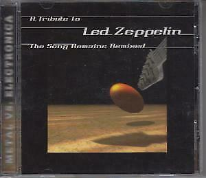 SONG BECOMES REMIXED: A TRIBUTE TO LED ZEPPELIN Various Artists CD USA Cleopatra