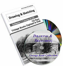 Sketching Drawing Vintage Books Artist Art Painting Sketch Pencil Design DVD 76