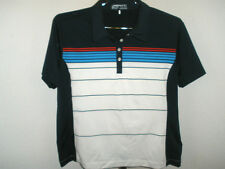 Womens Nike Golf Fit Dry Dark Navy Striped Polo Xl Extra Large (16-18)