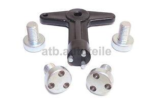 Sicherungsschlüssel Felgenschloß Felgenschlüssel Felgendeckel für Opel Astra G