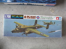 Tamiya B25 Mitchell Bomber Airplane Model Kit 1/700 NIB