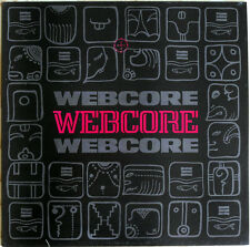 WEBCORE 'Webcore Webcore' 2nd album vinyl LP, 1980's psychedelic prog rock new