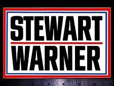 "1 3.5/"" Stewart Warner Gauges Vintage REPRO Retro Vintage Vinyl Decal #625"