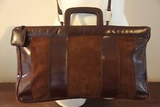 Gorgeous!! Leather+Suede Authentic Vintage BOTTEGA VENETA Shoulder-Tote-Handbag