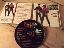Brooks and Dunn   HARD WORKIN' MAN   (CD 1993)