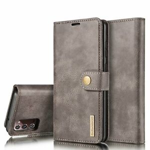 Leather Wallet Flip Phone Case For Samsung Galaxy S20 S10 S9 S8 PLUS NOTE 20 10