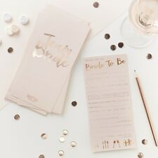 Team Bride Advice Cards - Bride to be - Hen Party Games - Bachelorette - Bridal