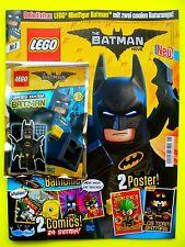 Lego The Batman Movie Magazin Batman mit 2 Batarang Limited Edtion Neu Top Nr. 1